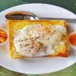 pão com ovo engorda