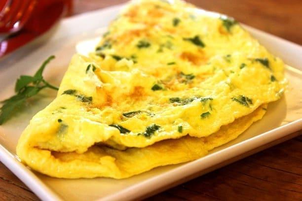 omelete engorda